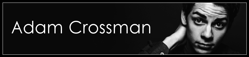 Adam Crossman Banner