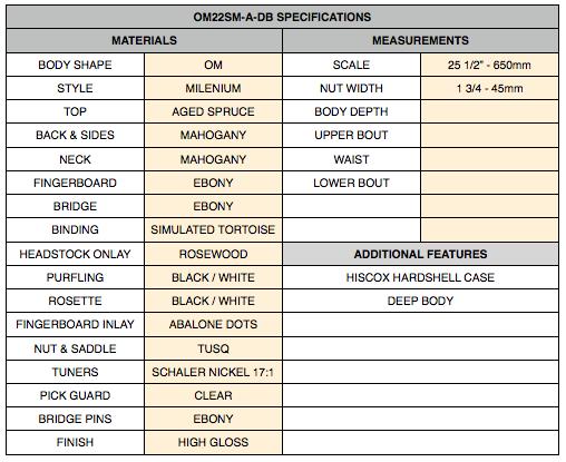SPECS OM22SM-A-DB